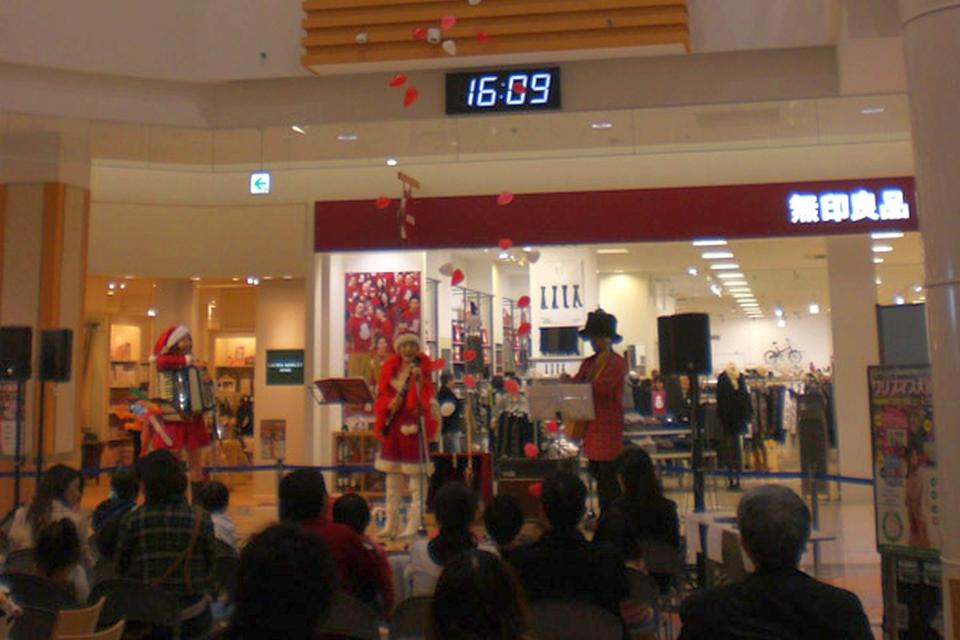キャロラーズ with Mami@イオン鹿児島ショッピングセンター