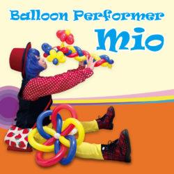 バルーンパフォーマー・ミオのホームページを公開致しました!