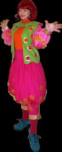 プリンセス・ジャスミン風なEMILYの衣装