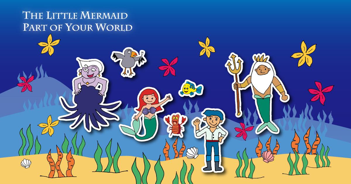 ディズニー映画「リトル・マーメイド」公開30周年記念【第一弾】 Part of Your World (The Little Mermaid)