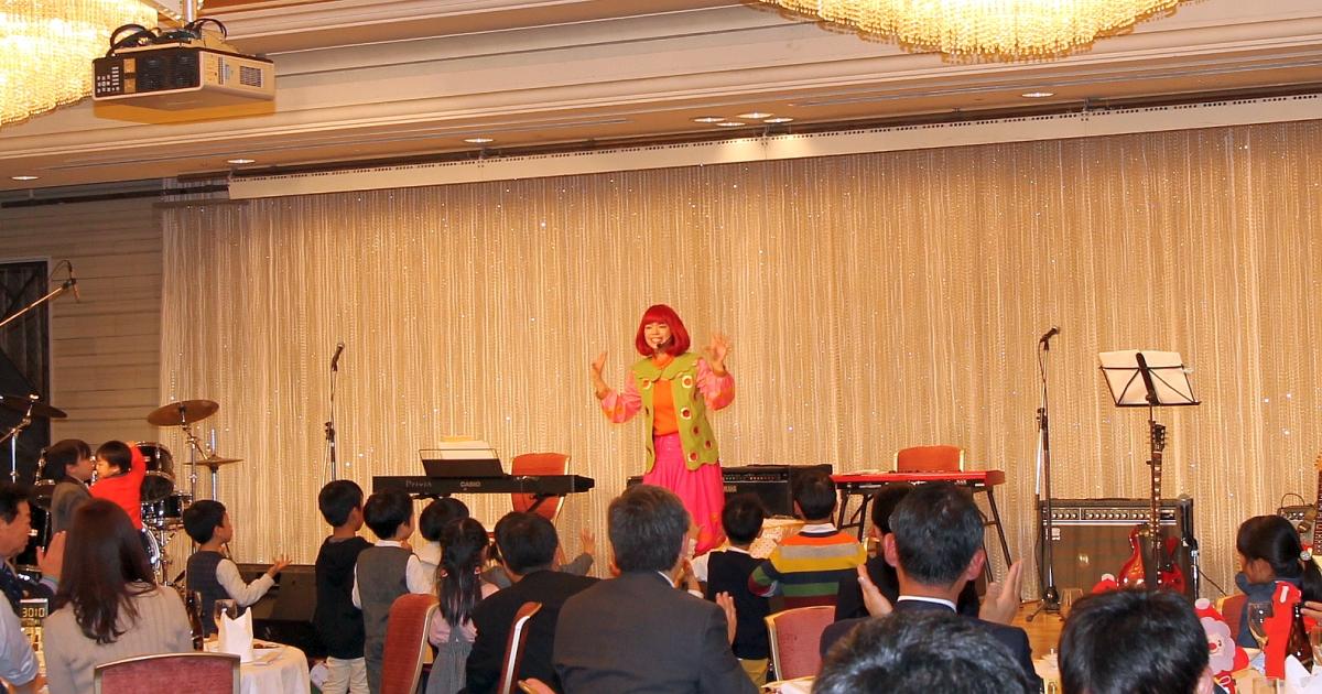 エミリー☆ファミリーコンサート@南九州税理士会鹿児島支部クリスマス家族会