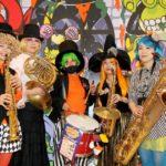 NEOチンドン☆チロル堂(ハロウィン音楽隊)館内グリーティング@イオンモール鹿児島