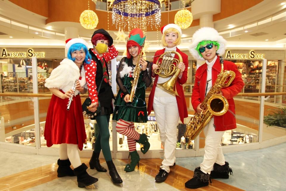 キャロラーズ・クリスマスパレード@イオンモール鹿児島
